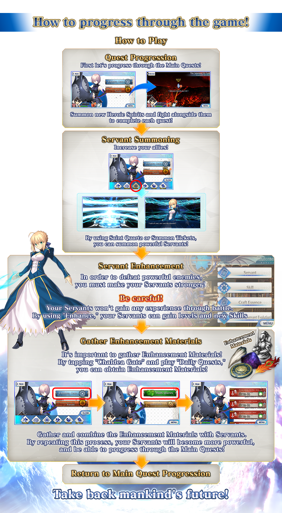Beginner's Guide - Fate/Grand Order Wiki