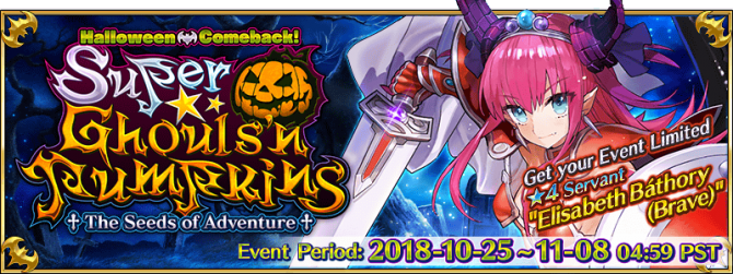 Super Ghouls'n Pumpkins/Challenge Quest Guide - Fate/Grand