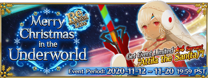 Merry Christmas From The Underworld Rerun Fate Grand Order Wiki