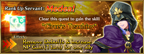 Medea Rank Up.png